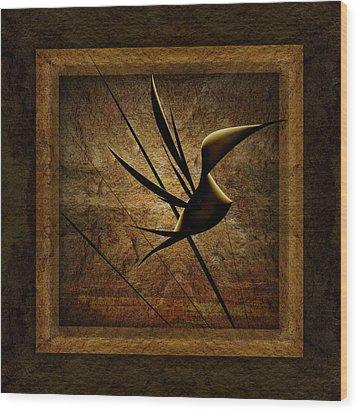 Rare Bird Wood Print