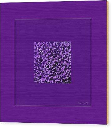 Rare Flower Wood Print by Marija Djedovic