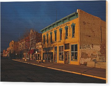 Raton Historic District Wood Print