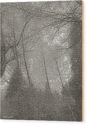 Ravenna Wood Print by Tobeimean Peter