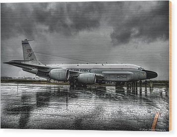 Rc-135vw Wood Print by Ryan Wyckoff