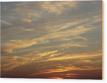 Reach For The Sky 7 Wood Print by Mike McGlothlen