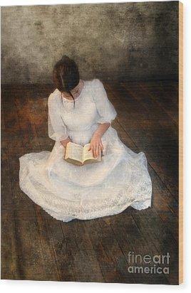 Reading  Wood Print