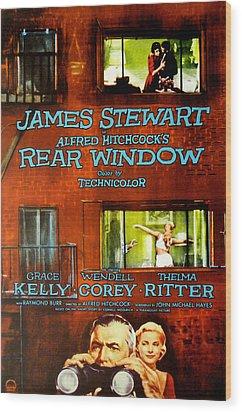 Rear Window, Grace Kelly, James Wood Print by Everett