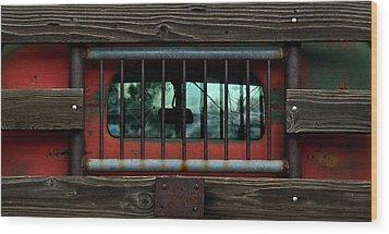 Rear Window Wood Print by Murray Bloom