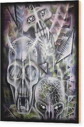 reawakening II Wood Print by Leigh Odom