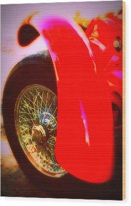 Red Allard Wood Print