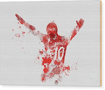 Red Devil Wood Print