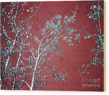 Red Glory Wood Print by Tara Turner