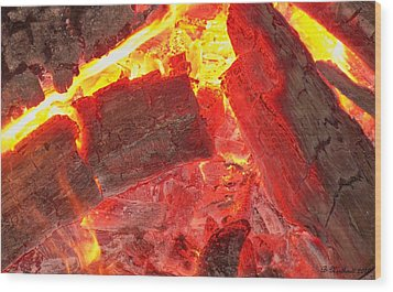 Wood Print featuring the photograph Red Hot by Betty Northcutt
