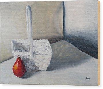 Red Pear Wood Print
