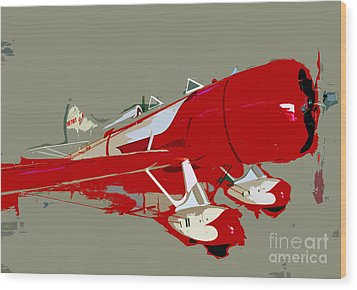 Red Racer Wood Print by David Lee Thompson