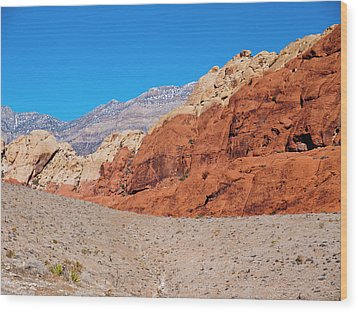 Red Rock Canyon Wood Print by Rae Tucker