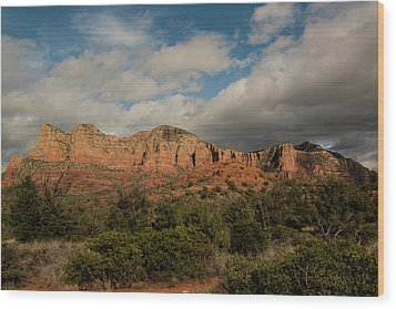 Wood Print featuring the photograph Red Rock Country Sedona Arizona 3 by David Haskett