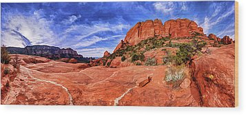 Wood Print featuring the photograph Red Rock Spirit 2 by ABeautifulSky Photography