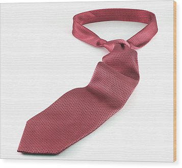 Red Tie Wood Print by Blink Images