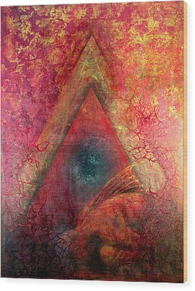 Redstargate Wood Print