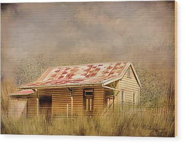 Wood Print featuring the photograph Redundant by Wallaroo Images