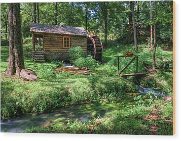 Reed's Mill Wood Print