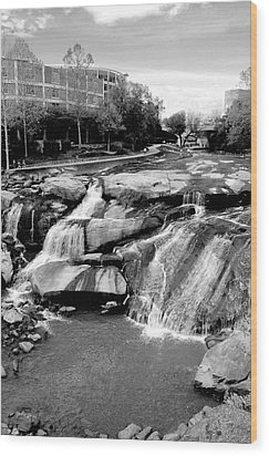 Wood Print featuring the photograph Reedy River by Corinne Rhode