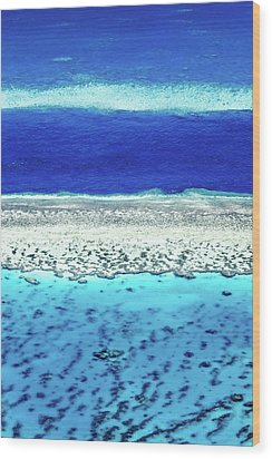 Wood Print featuring the photograph Reefs Edge by Az Jackson