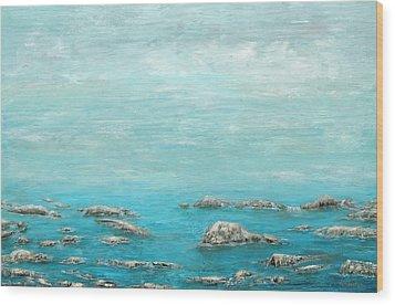 Reefs Wood Print
