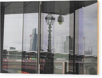 Refection Blackfriars Wood Print