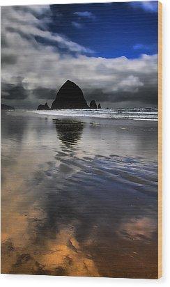 Reflected Glory Wood Print by David Patterson