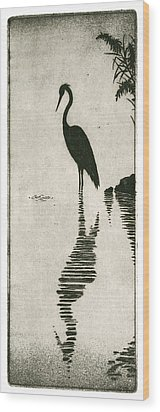 Reflecting Wood Print by Charles Harden