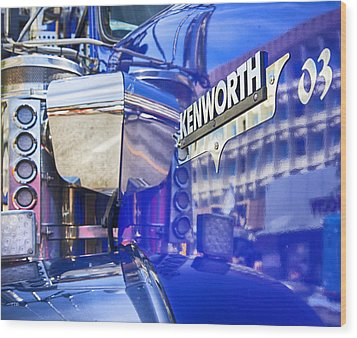 Reflecting On A Kenworth Wood Print