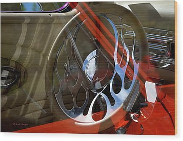 Wood Print featuring the photograph Reflecting Reflections by Kae Cheatham