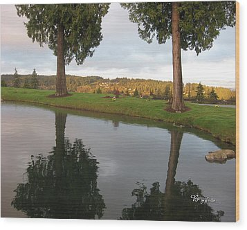 Reflections #183 Wood Print