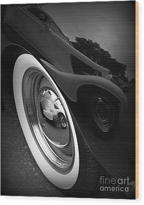 Reflections 2 Wood Print by Perry Webster