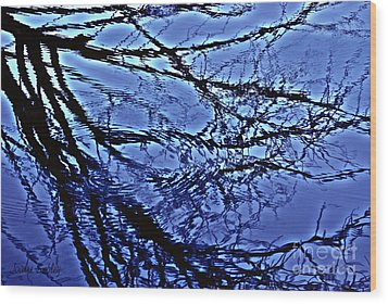 Reflections Wood Print by Joanne Smoley