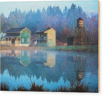 Reflections Of Hope - Hope Valley Art Wood Print by Jordan Blackstone