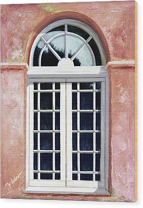 Reflections Of The Past - Prints From My Original Oil Painting Wood Print