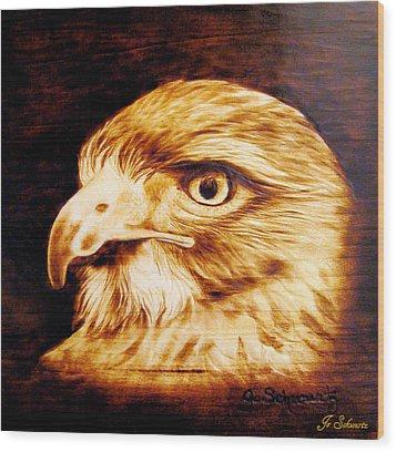 Regal Wood Print by Jo Schwartz