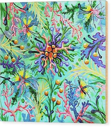 Regenerate Wood Print by Sandra Lett