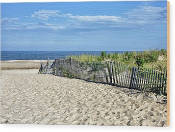 Wood Print featuring the photograph Rehoboth Delaware by Brendan Reals