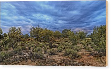 Wood Print featuring the photograph Rejuvenation Op19 by Mark Myhaver