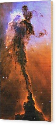 Release - Eagle Nebula 1 Wood Print by Jennifer Rondinelli Reilly - Fine Art Photography