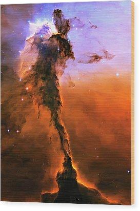 Release - Eagle Nebula 2 Wood Print by Jennifer Rondinelli Reilly - Fine Art Photography