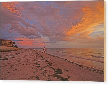 Wood Print featuring the photograph Remains Of The Day by HH Photography of Florida