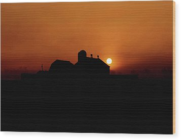 Wood Print featuring the photograph Remember The Sun by Robert Geary