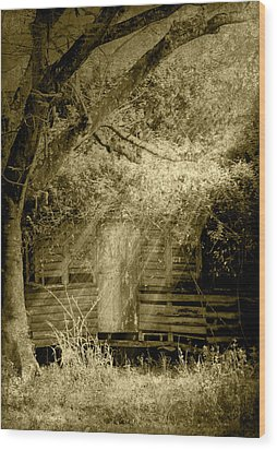 Remember When Wood Print by Holly Kempe