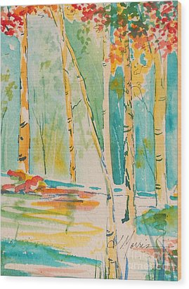 Remembering Edisto Island Wood Print