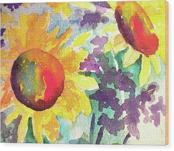Remembering Summer Wood Print