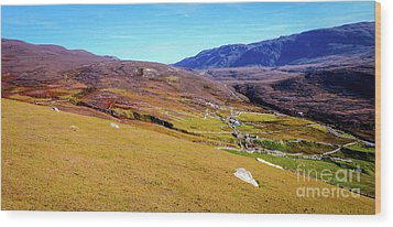 Remote Port - Donegal Ireland Wood Print