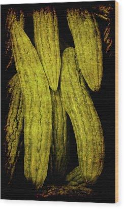 Renaissance Chinese Cucumber Wood Print