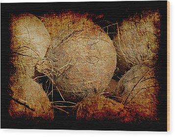 Renaissance Coconut Wood Print